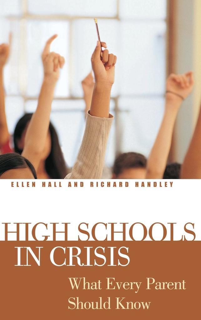 High Schools in Crisis als Buch (gebunden)
