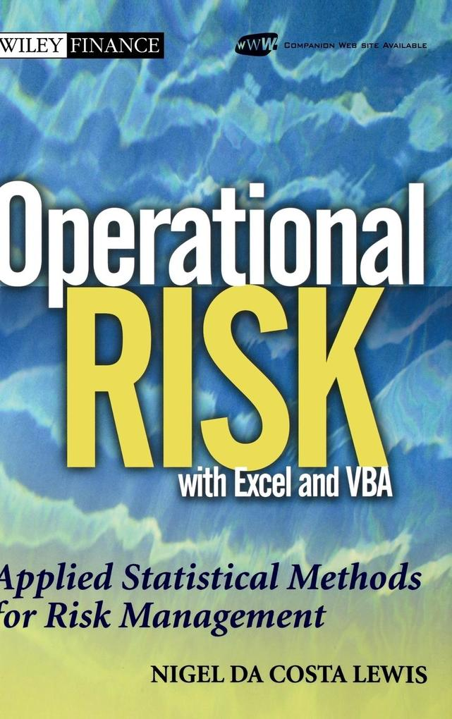 Operational Risk with Excel and VBA als Buch (gebunden)
