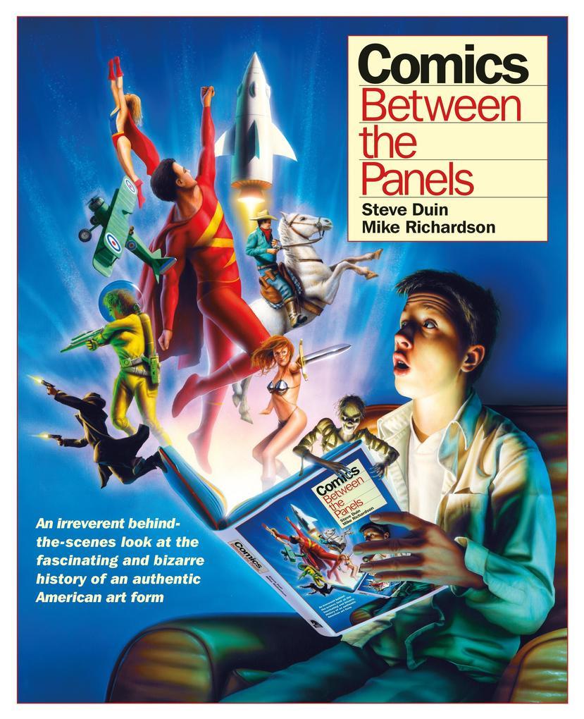 Comics: Between The Panels als Buch (gebunden)