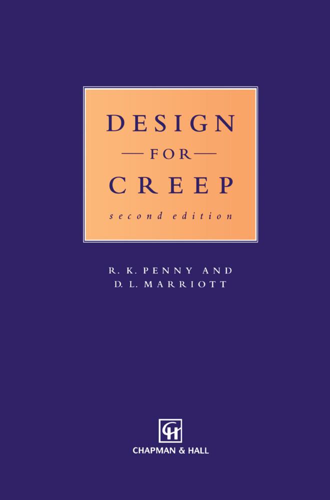 Design for Creep als Buch (gebunden)