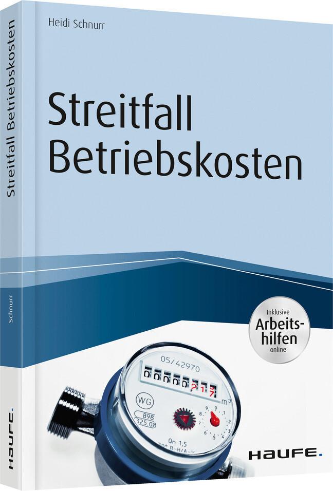 Streitfall Betriebskosten - inkl. Arbeitshilfen online als Buch (kartoniert)