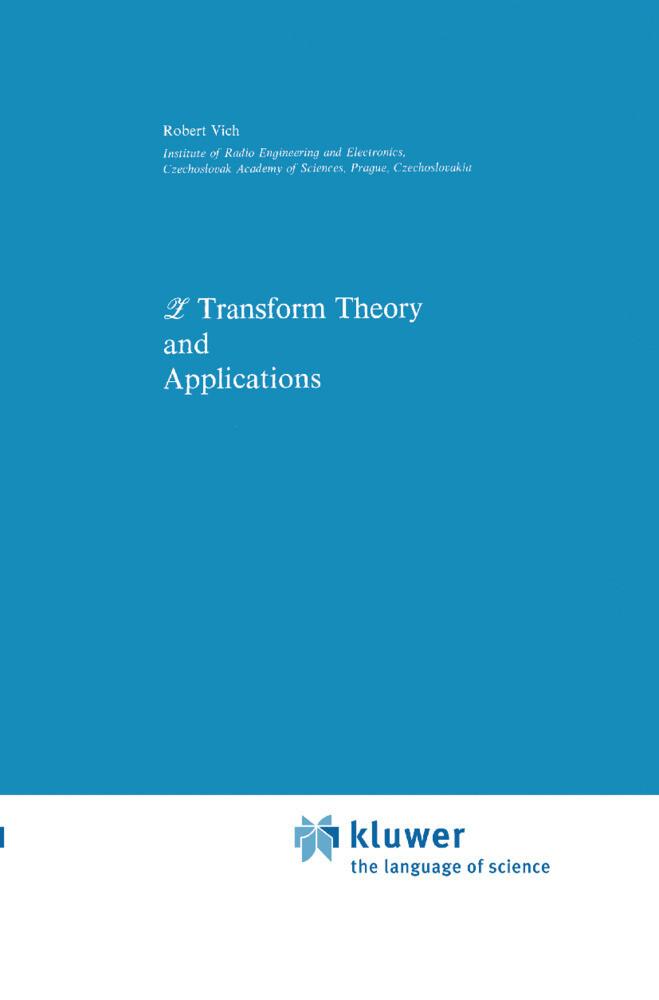 Z Transform Theory and Applications als Buch (gebunden)