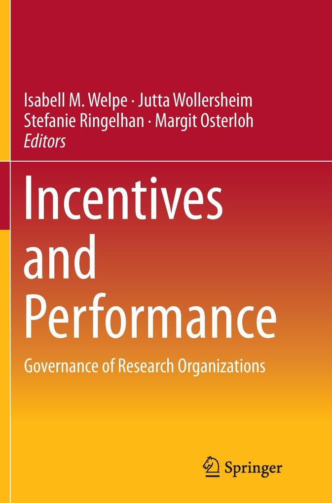 Incentives and Performance als Buch (kartoniert)