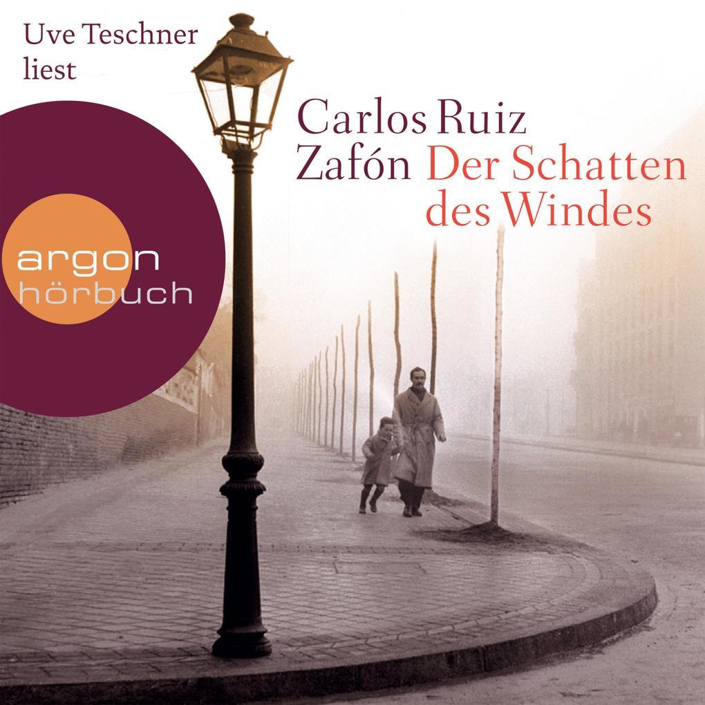 Der Schatten des Windes (Ungekürzte Lesung) als Hörbuch Download