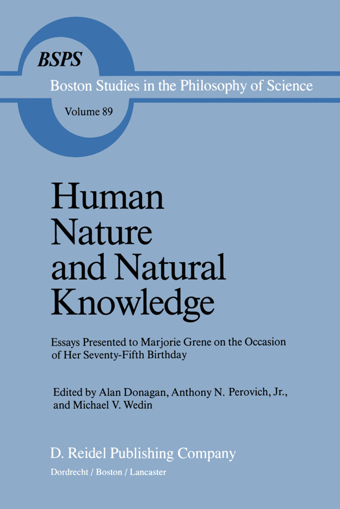 Human Nature and Natural Knowledge als Buch (gebunden)