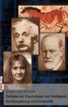 Zeittafel zur Psychologie von Intelligenz, Hochbegabung und Kreativität als Buch (kartoniert)