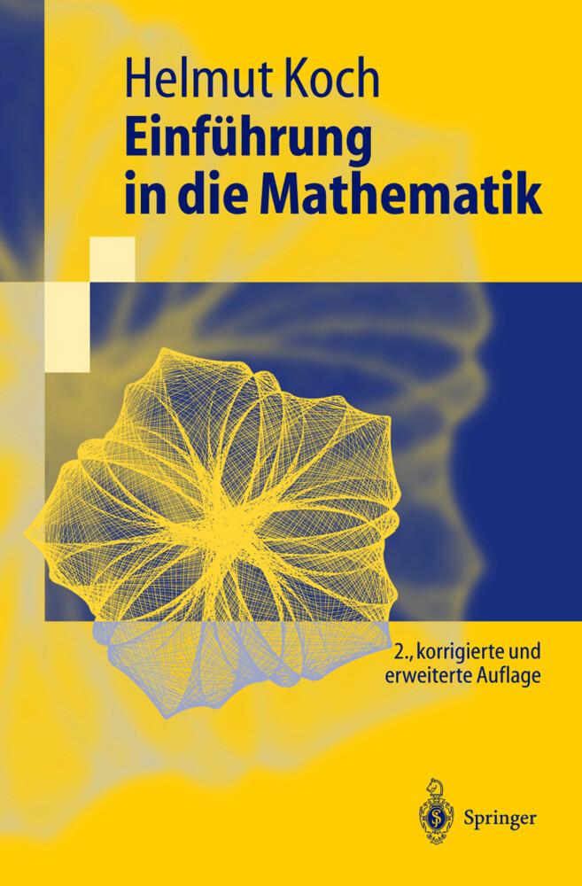 Einführung in die Mathematik als Buch (kartoniert)