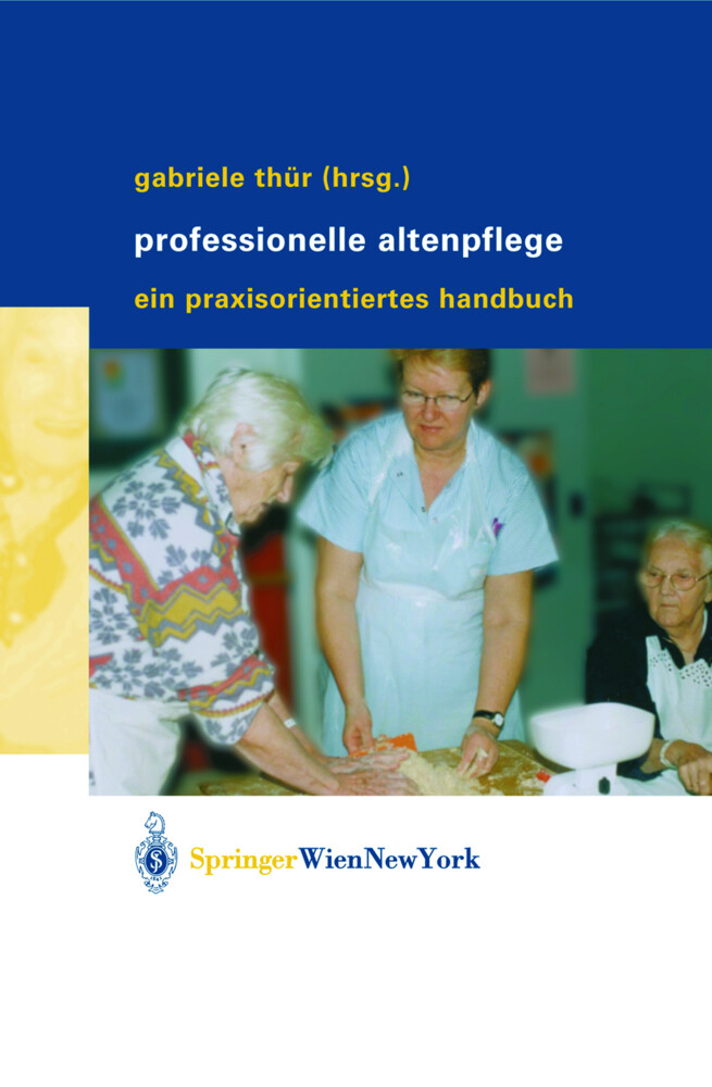 Professionelle Altenpflege als Buch (kartoniert)