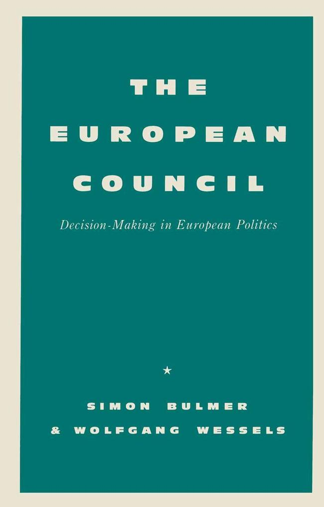European Council als eBook pdf
