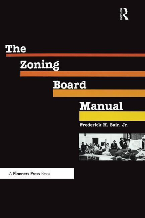 Zoning Board Manual als Taschenbuch