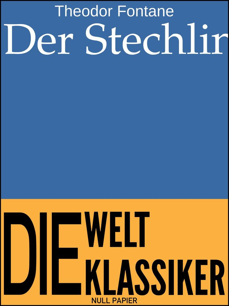 Der Stechlin als eBook pdf