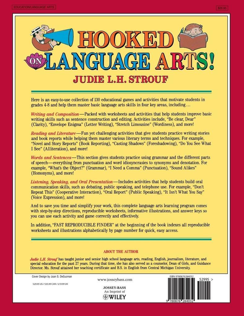Hooked on Language Arts! als Taschenbuch