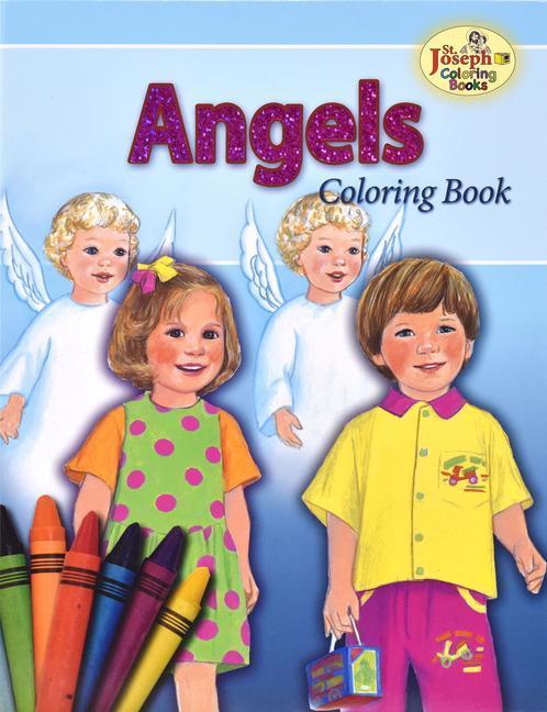 Angels Coloring Book als Taschenbuch