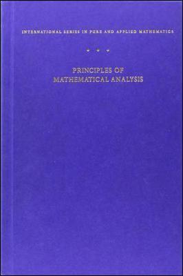 Principles of Mathematical Analysis als Buch (gebunden)