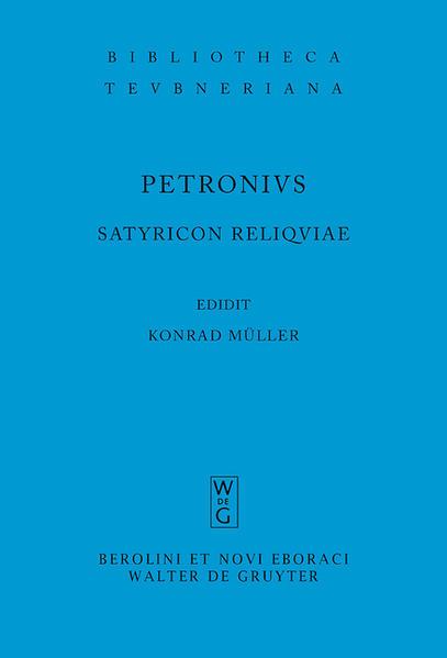Satyricon reliquiae als Buch (kartoniert)