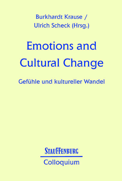 Emotions and Cultural Change als Buch (kartoniert)