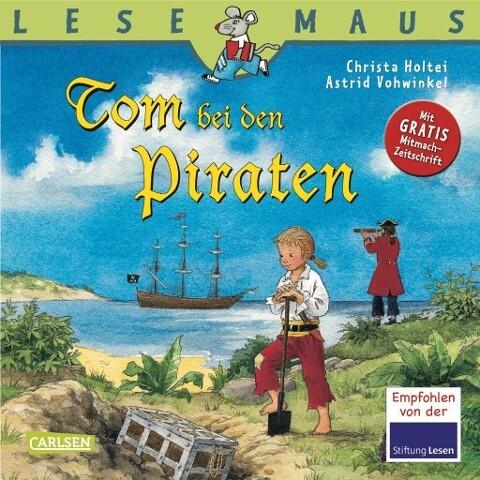 Tom bei den Piraten als Buch (geheftet)