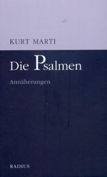 Die Psalmen als Buch (kartoniert)