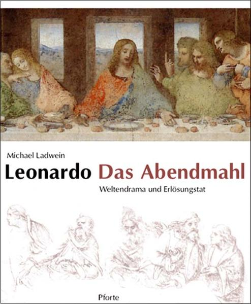 Leonardo. Das Abendmahl als Buch (kartoniert)