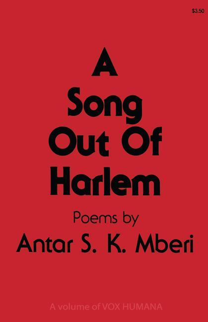 A Song Out of Harlem als Buch (kartoniert)