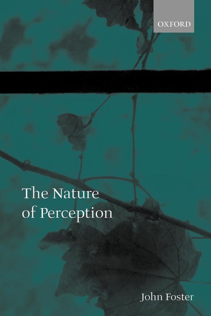 The Nature of Perception als Buch (kartoniert)