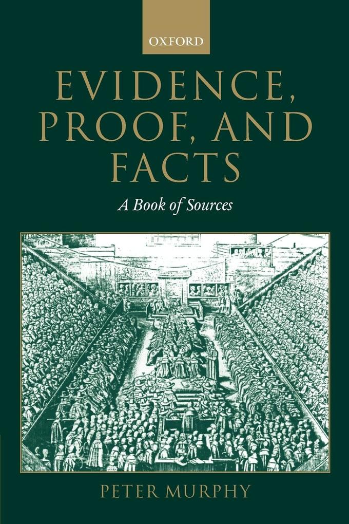 Evidence, Proof, and Facts als Buch (kartoniert)