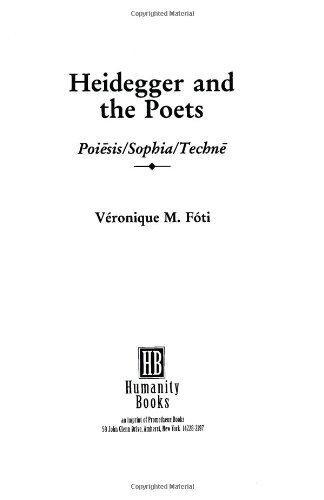 Heidegger and the Poets als Taschenbuch
