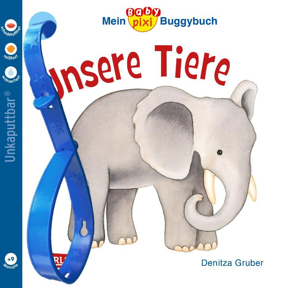 Mein Baby-Pixi-Buggybuch: Unsere Tiere als Buch (kartoniert)