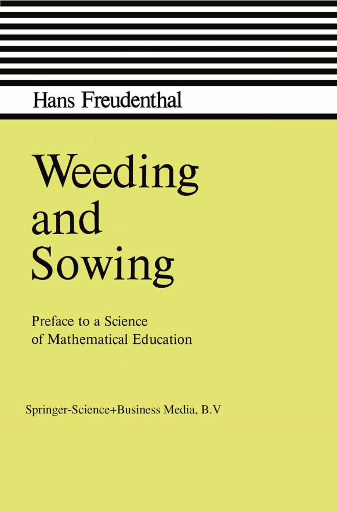 Weeding and Sowing als Buch (gebunden)