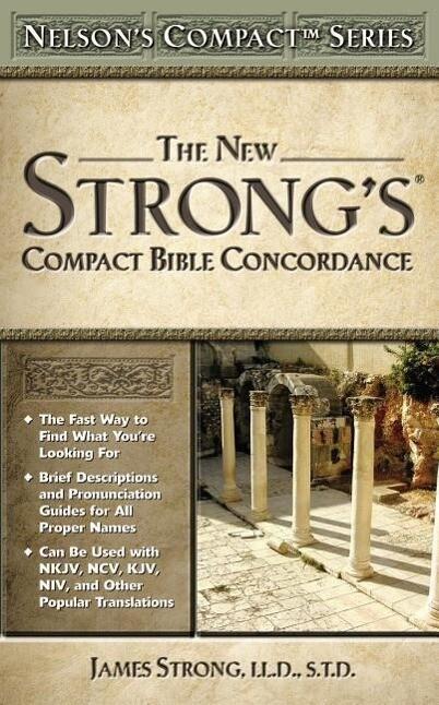 Nelson's Compact Series: Compact Bible Concordance als Taschenbuch