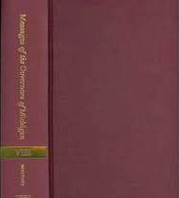 Messages of the Governors of Michigan, Volume VIII: 1961-1969 als Buch (gebunden)