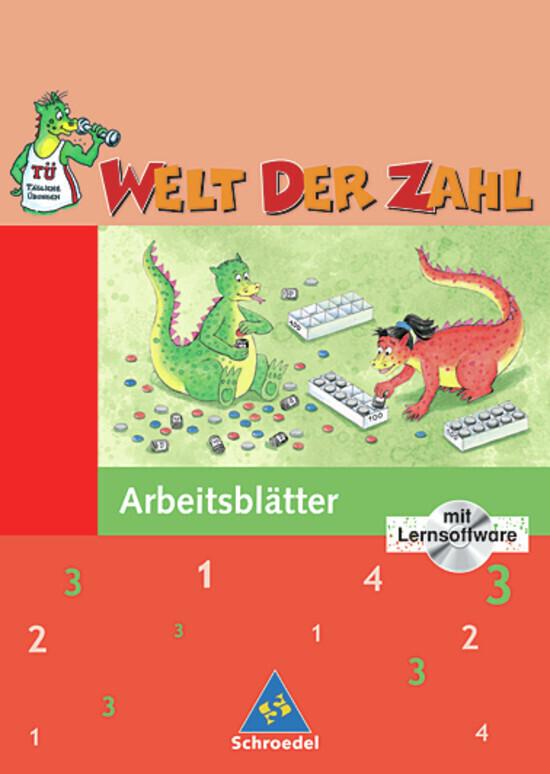 Welt der Zahl 3. Arbeitsheft mit CD-ROM. Berlin, Brandenburg, Mecklenburg,-Vorpommern als Buch (geheftet)