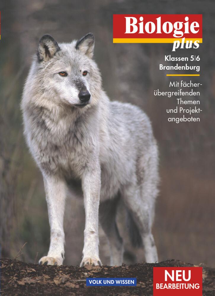 Biologie plus 5/6. Schülerbuch. Neubearbeitung. Berlin/Brandenburg als Buch (gebunden)