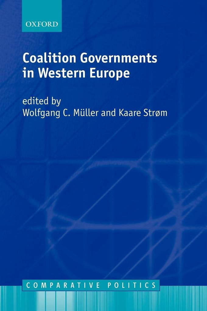 Coalition Governments in Western Europe als Buch (kartoniert)