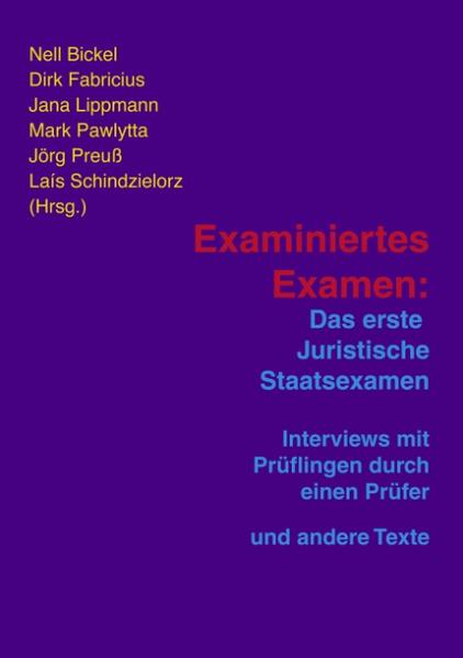 Examiniertes Examen als Buch (kartoniert)