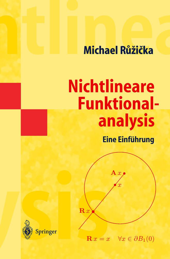 Nichtlineare Funktionalanalysis als Buch (kartoniert)