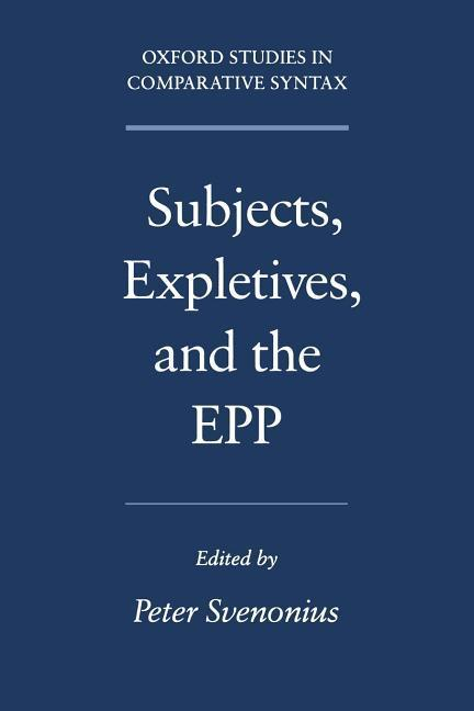 Subjects, Expletives, and the EPP als Buch (kartoniert)