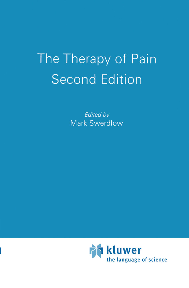 The Therapy of Pain als Buch (gebunden)