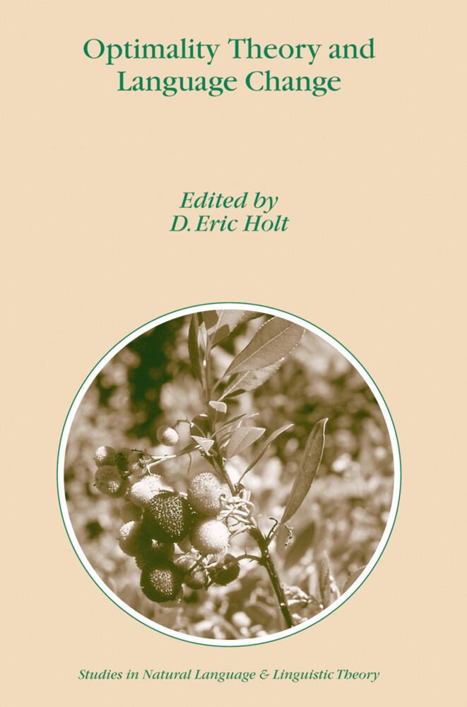 Optimality Theory and Language Change als Buch (kartoniert)