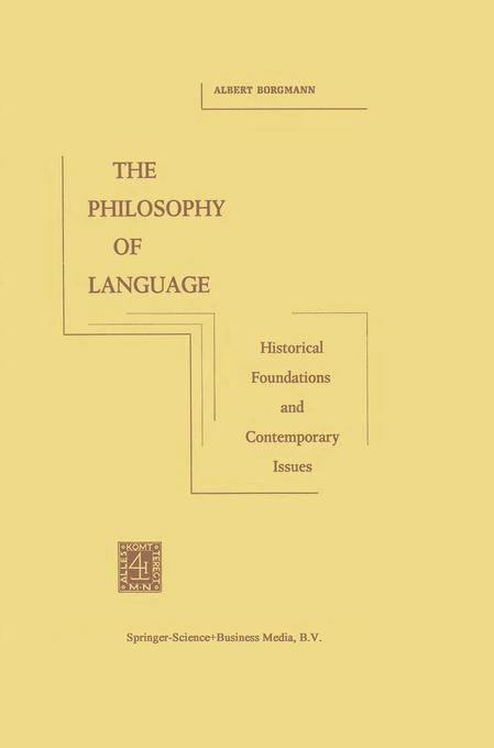 The Philosophy of Language als Buch (kartoniert)