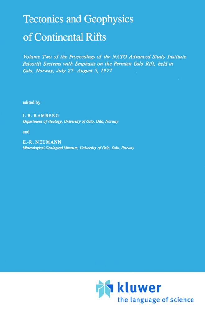 Tectonics and Geophysics of Continental Rifts als Buch (gebunden)
