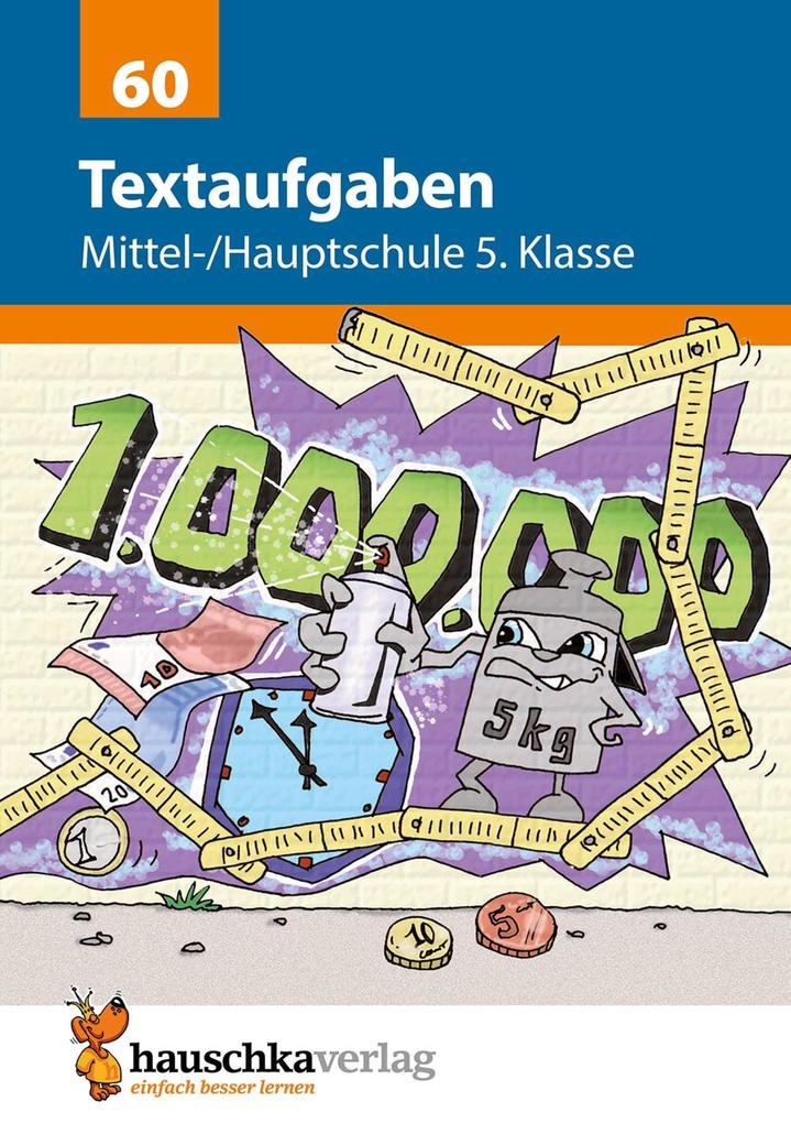 Textaufgaben Mittel-/Hauptschule 5. Klasse als eBook pdf