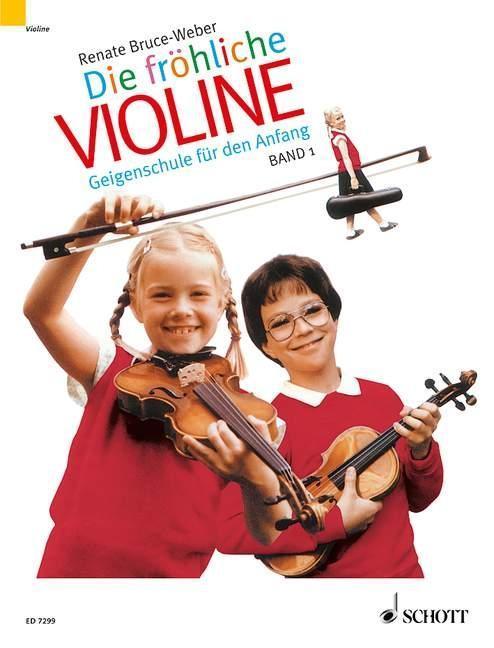 Die fröhliche Violine 1 als Buch (kartoniert)