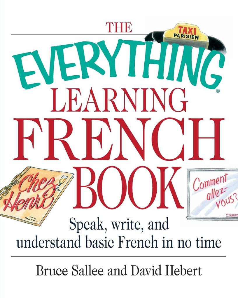 The Everything Learning French Book als Taschenbuch