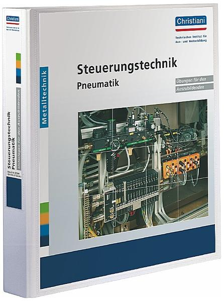 Steuerungstechnik Pneumatik als Blätter und Karten