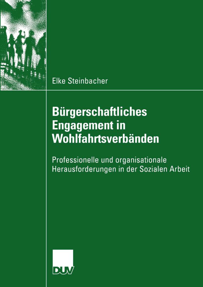 Bürgerschaftliches Engagement in Wohlfahrtsverbänden als Buch (kartoniert)
