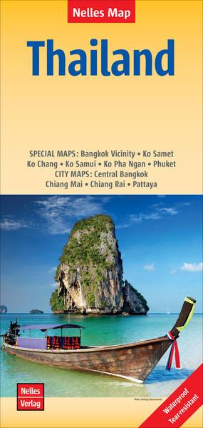 Nelles Map Thailand 1:1 500 000 als Blätter und Karten