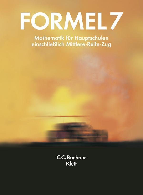 Formel 7. M- und R-Züge. Neubearbeitung. Bayern als Buch (gebunden)