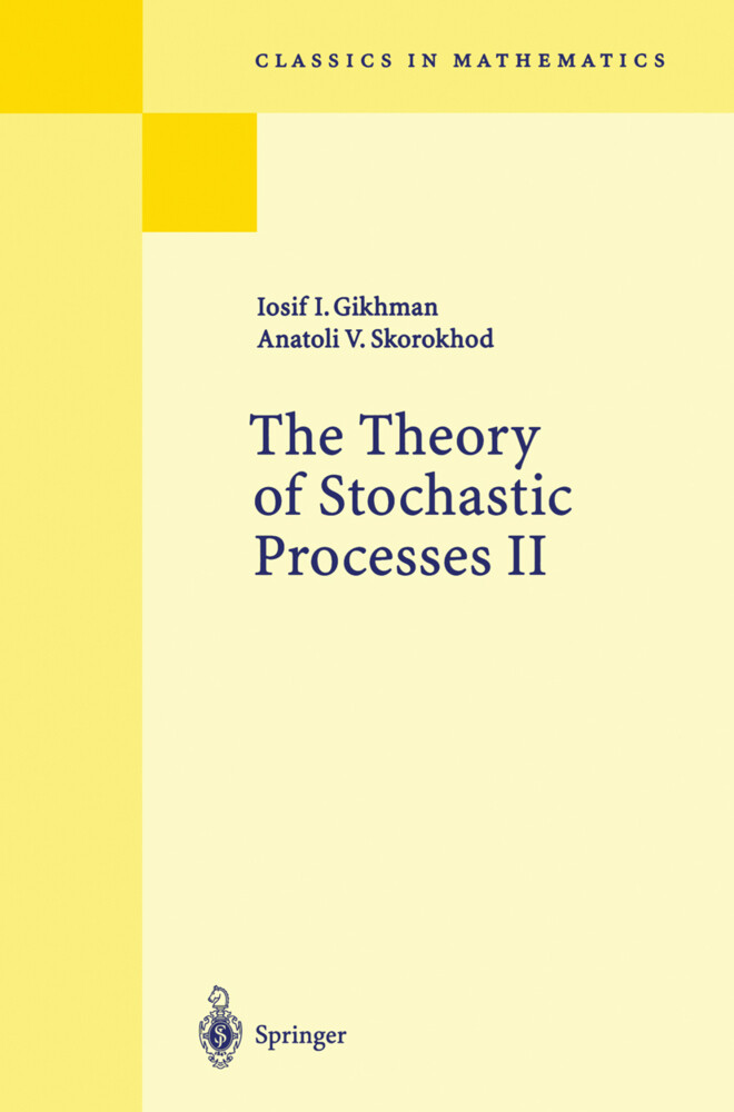 The Theory of Stochastic Processes II als Buch (kartoniert)
