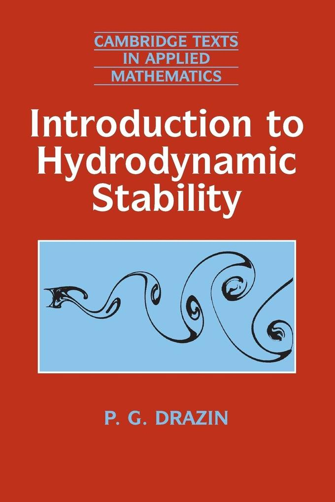 Introduction to Hydrodynamic Stability als Buch (kartoniert)